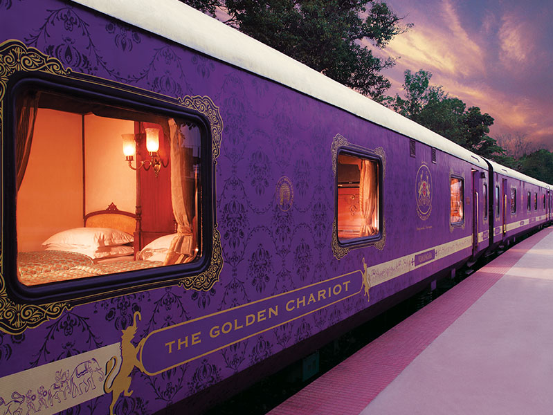 The Golden Chariot Train Images